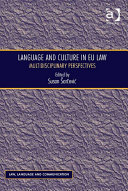 Language and Culture in EU Law