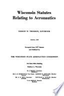 Wisconsin Statutes Relating To Aeronautics