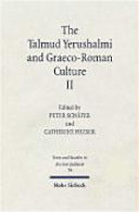 The Talmud Yerushalmi and Graeco-Roman Culture