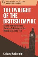 Twilight of the British Empire Pdf/ePub eBook