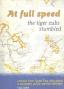 At Full Speed the Tiger Cubs Stumbled