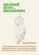 Macram   Book for Beginners