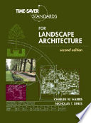 Time-Saver Standards for Landscape Architecture