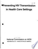 Preventing HIV Transmission in Health Care Settings