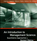 An Introduction to Management Science   Essentials of Statistics for Business and Economics