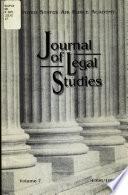 Journal of Legal Studies