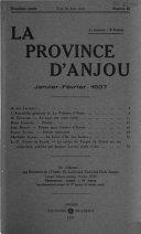 La Province d'Anjou