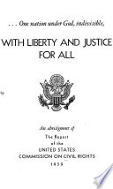 One Nation Under God Indivisible With Liberty And Justice For All
