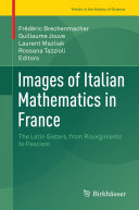 Pdf Images of Italian Mathematics in France Telecharger