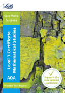 AQA Certificate Level 3 Mathematical Studies