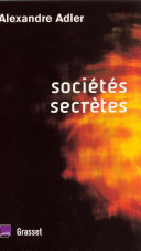 Pdf Sociétés secrètes Telecharger