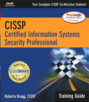 CISSP Certification: Training Guide