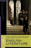 The Norton Anthology of English Literature  Major Authors Edition