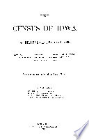 THE CENSUS OF IOWA AS RETURNED IN THE YEAR 1869 Book