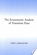 The Econometric Analysis of Transition Data