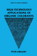 High Technology Applications of Organic Colorants