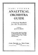 Carl Fischer Analytical Orchestra Guide