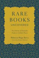 Rare Books Uncovered [Pdf/ePub] eBook