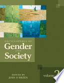 """Encyclopedia of Gender and Society"" by Jodi O'Brien"
