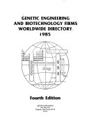 Genetic Engineering and Biotechnology Firms Book