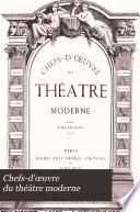 Chefs-d'œuvre du théâtre moderne