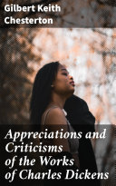 Appreciations and Criticisms of the Works of Charles Dickens Pdf/ePub eBook