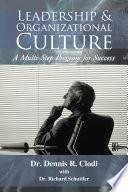 Leadership   Organizational Culture