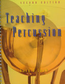 Teaching Percussion Book PDF