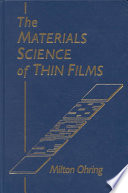 The Materials Science of Thin Films Book