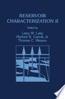 Reservoir Characterization II Book
