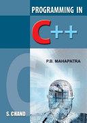 Programming in C++ Pdf/ePub eBook