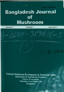 Bangladesh Journal of Mushroom Book PDF