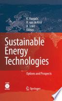 Sustainable Energy Technologies Book