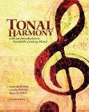 Tonal Harmony with Workbook