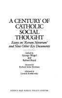 A Century of Catholic Social Thought Book PDF