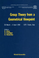 Group Theory From A Geometrical Viewpoint