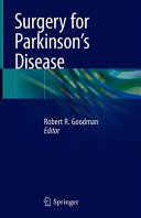 Surgery for Parkinson s Disease Book