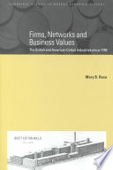 Firms Networks And Business Values