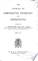 Journal of Comparative Pathology and Therapeutics