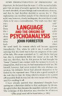Language and the Origins of Psychoanalysis