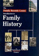 The Family Records Centre Introduction to Family History