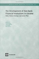 The Development of Non-bank Financial Institutions in Ukraine