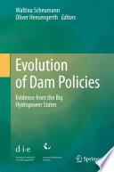 Evolution of Dam Policies Book
