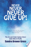 Never Never Never Give Up  Book PDF