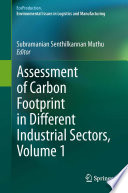 Assessment of Carbon Footprint in Different Industrial Sectors Book