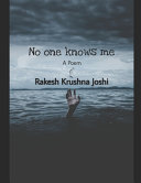 No One Knows Me Book
