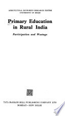 Primary Education in Rural India