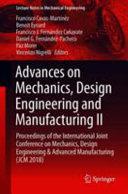 Advances on Mechanics  Design Engineering and Manufacturing II