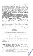 Treasury Decisions Under the Customs  Internal Revenue  Industrial Alcohol  Narcotic and Other Laws