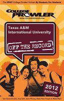 Texas A M International University 2012
